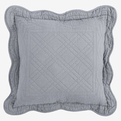 """Florence 16"""" Square Pillow, GRAY"""