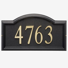 Design-it 4 Arch Plaque , BLACK