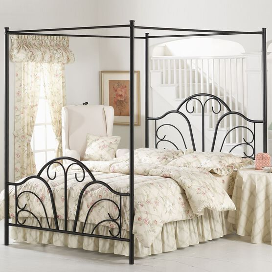 """Queen Bed with Bed Frame, 83½""""Lx60¾""""Wx81""""H,"""