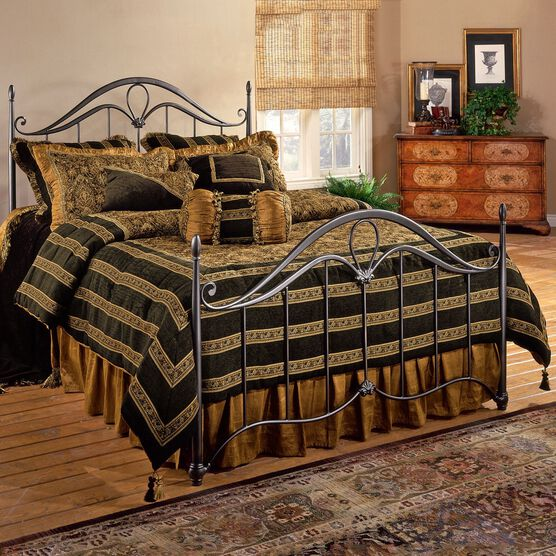 King Bed Set with Bed Frame, 83½'Lx80'Wx56'H,