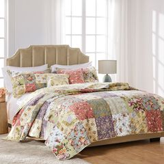 Blooming Prairie Bonus Quilt Set by Greenland Home Fashions,