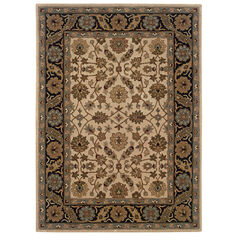 Trio Traditional Floral 5'X7' Area Rug,