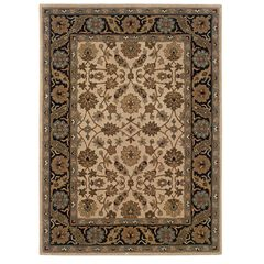 Trio Traditional Floral 8'X10' Area Rug,