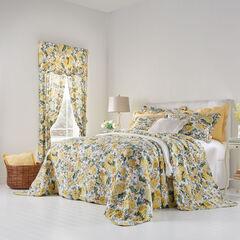 Florence Oversized Bedspread, FLORAL MULTI