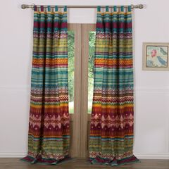 Southwest Curtain Panel Pair by Greenland Home Fashions,