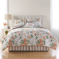 Cabbage Rose 6-Pc. Comforter Set,