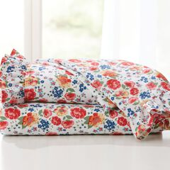 BH Studio Floral Microfiber Sheet Set,