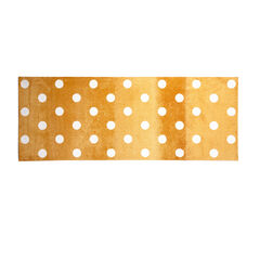 Small Polka Dance Rug , GOLD