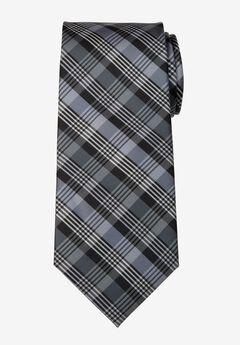 KS Signature Classic Plaid Tie,