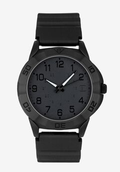 Rugged Sport Watch with Silicone Band,