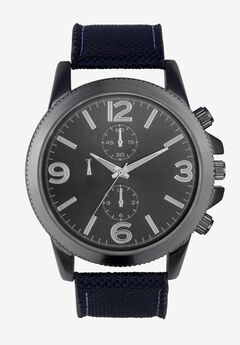 Sports Watch with Grosgrain Band,