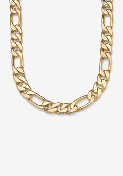 """Figaro-Link Necklace 30"""" ,"""