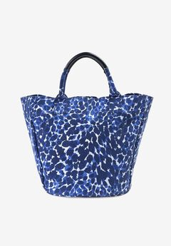Printed Canvas Tote Bag,