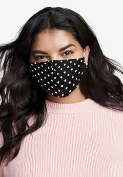 2-Layer Reusable Cotton Face Mask - Women's,