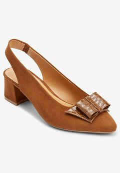 The Annette Slingback , MOCHA
