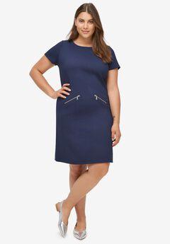 Zip-Pocket Dress,