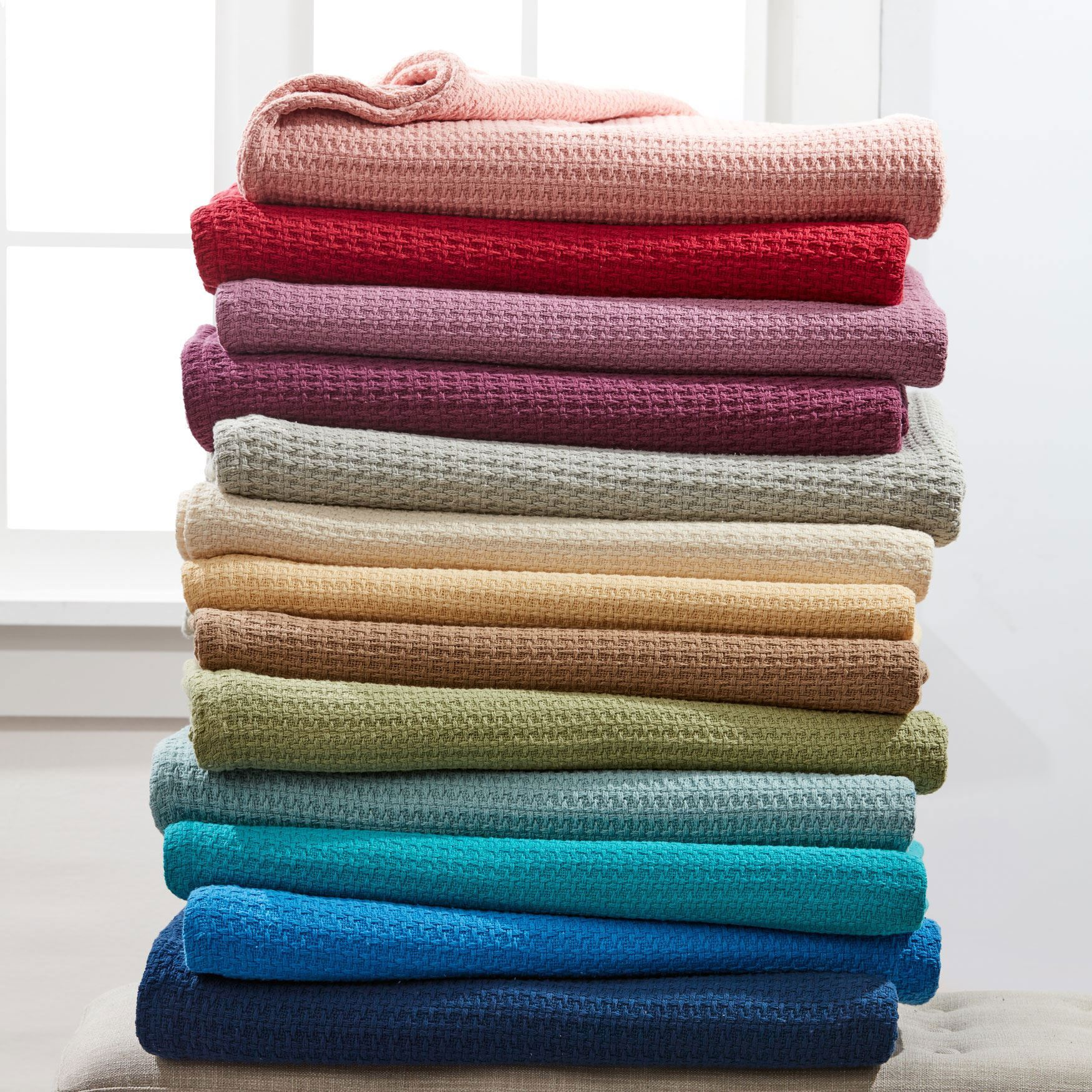 BH Studio Primrose Cotton Blanket Collection,