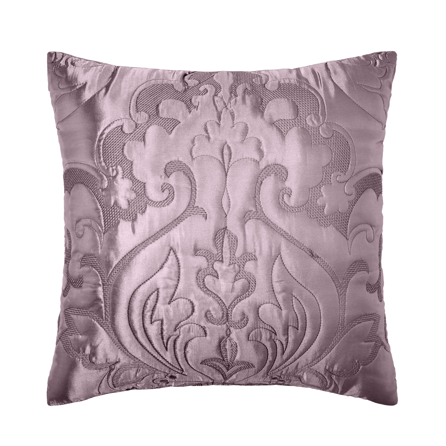 "Amelia Satin 16""Sq. Pillow,"