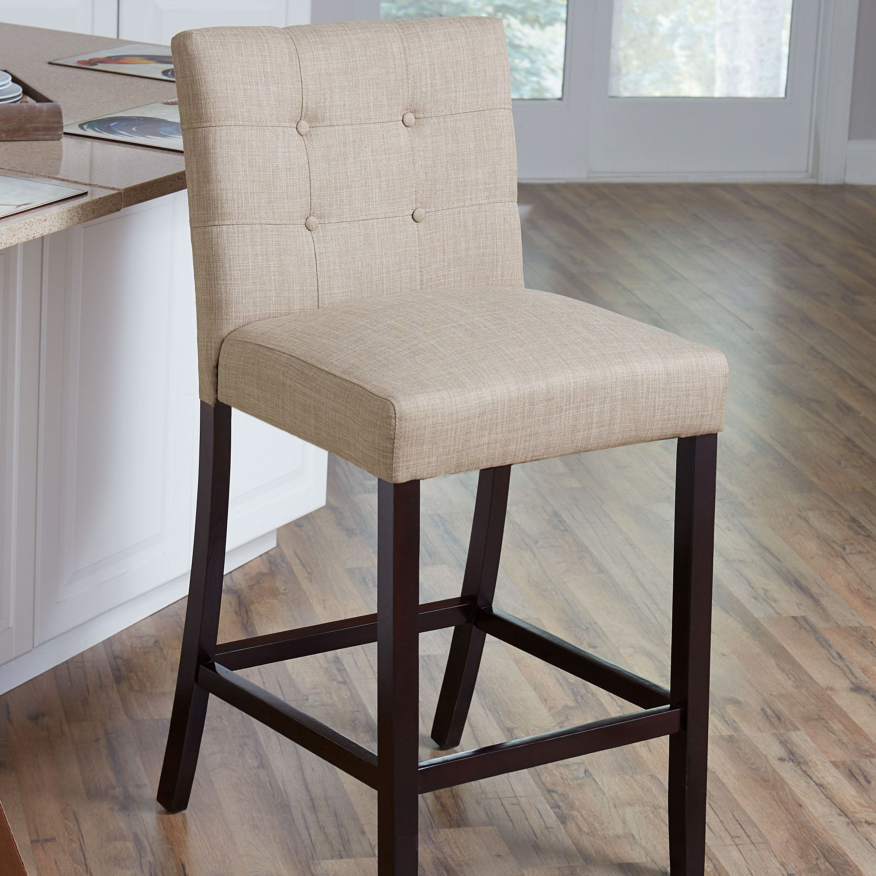 Aida Plus-Size Living Counter Stool,