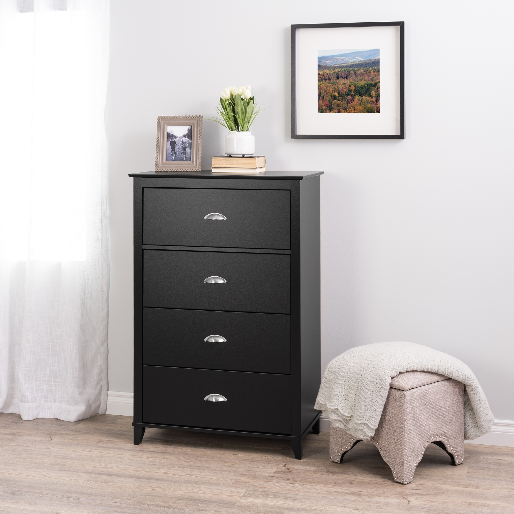 Yaletown 4-Drawer Chest,