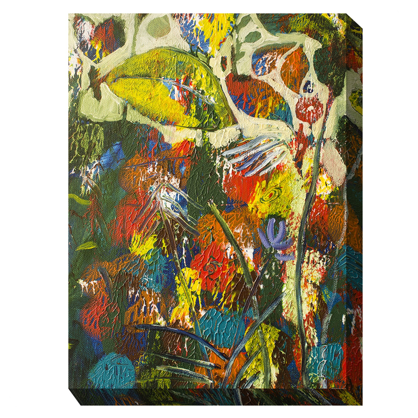 BAWDY BOTANICALS OUTDOOR ART 30X40, MULTI