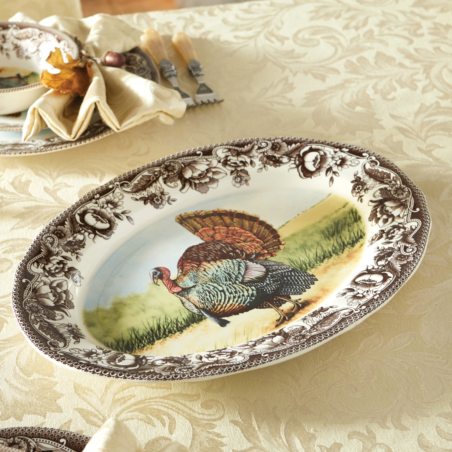 Haydon Turkey Platter, MULTI