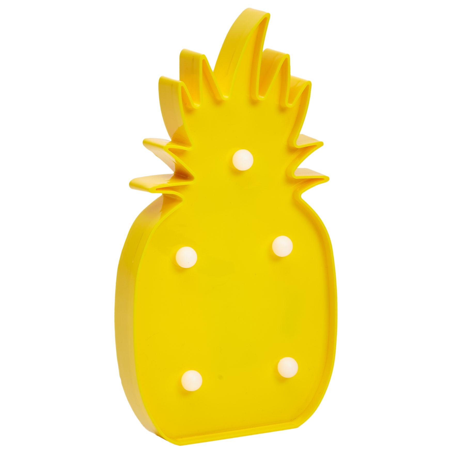 Pineapple Marquee Light, YELLOW