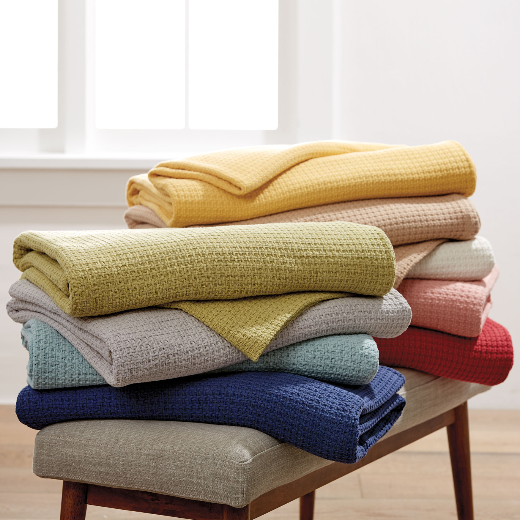 BrylaneHome® Studio Basic Cotton Blanket,