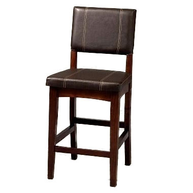 Counter Stool, 17¾'Wx19½'Dx24'H, BROWN