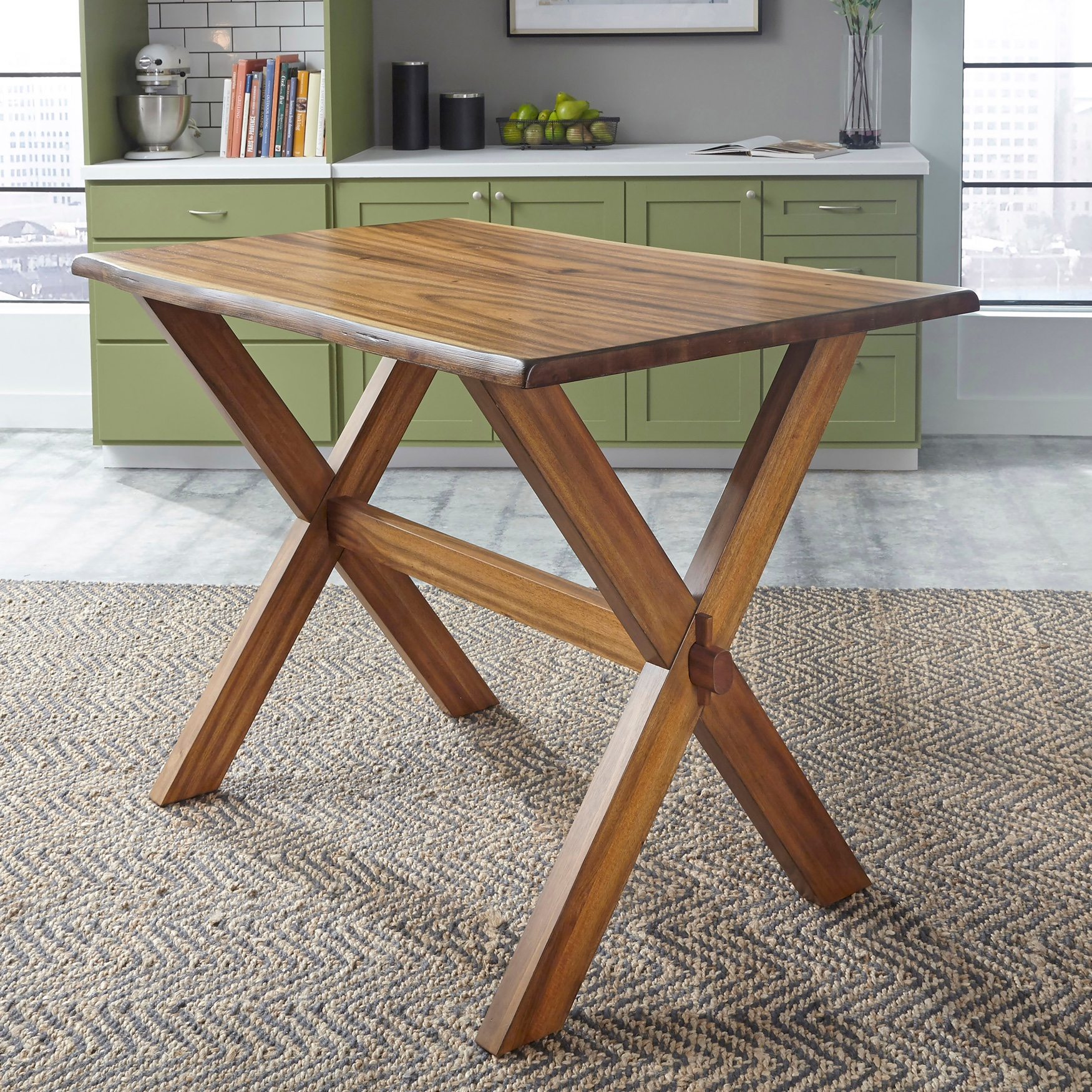 Forest Retreat High Dining Table by Home Styles, WOOD