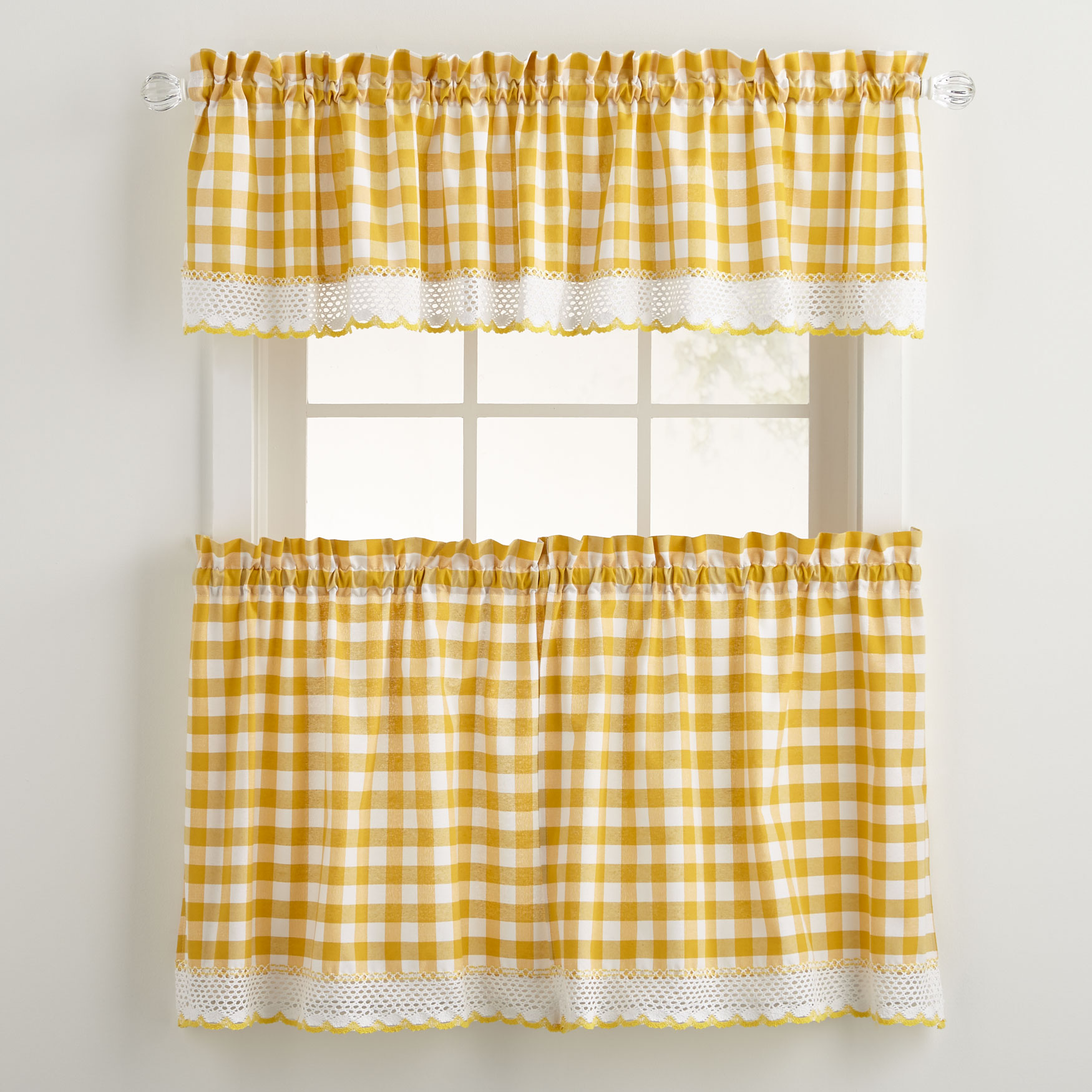 Buffalo Tier Curtain,