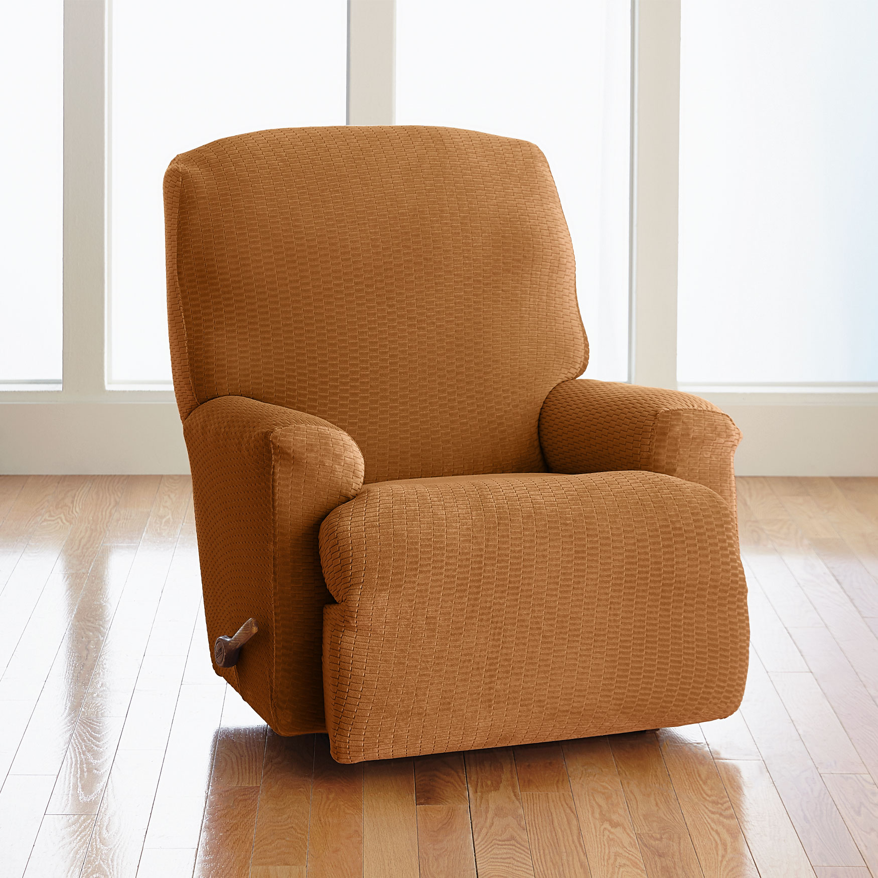 BH Studio Brighton Stretch Recliner Slipcover, MARIGOLD