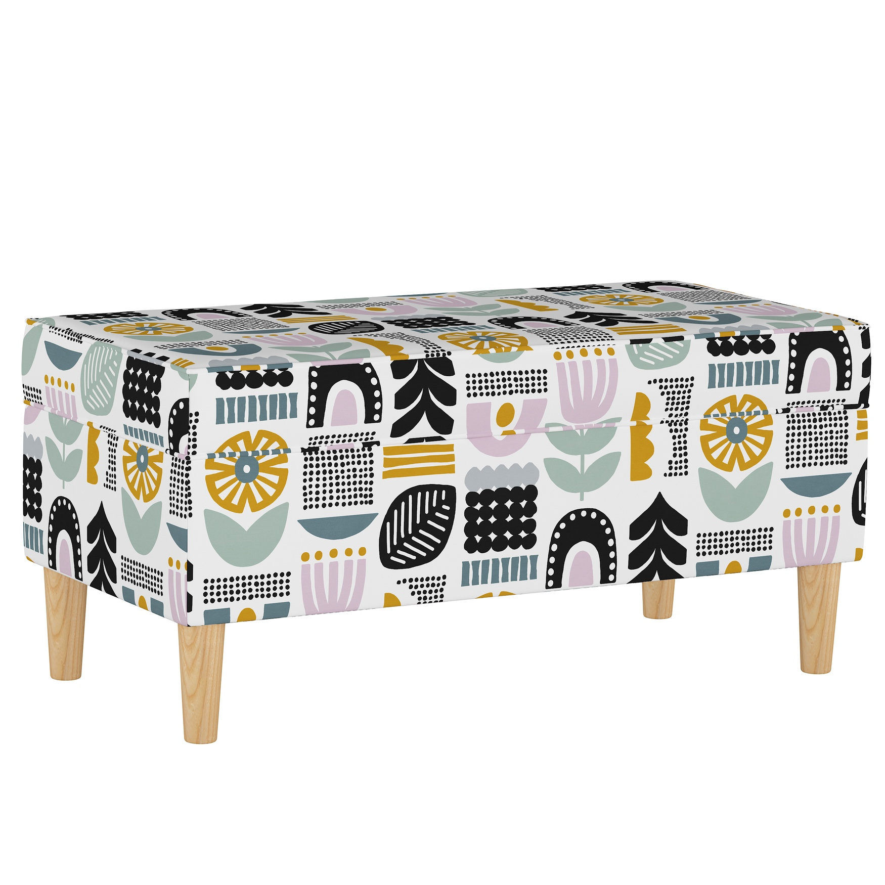 Helsinki Block Storage Bench, LAVENDER MULTI