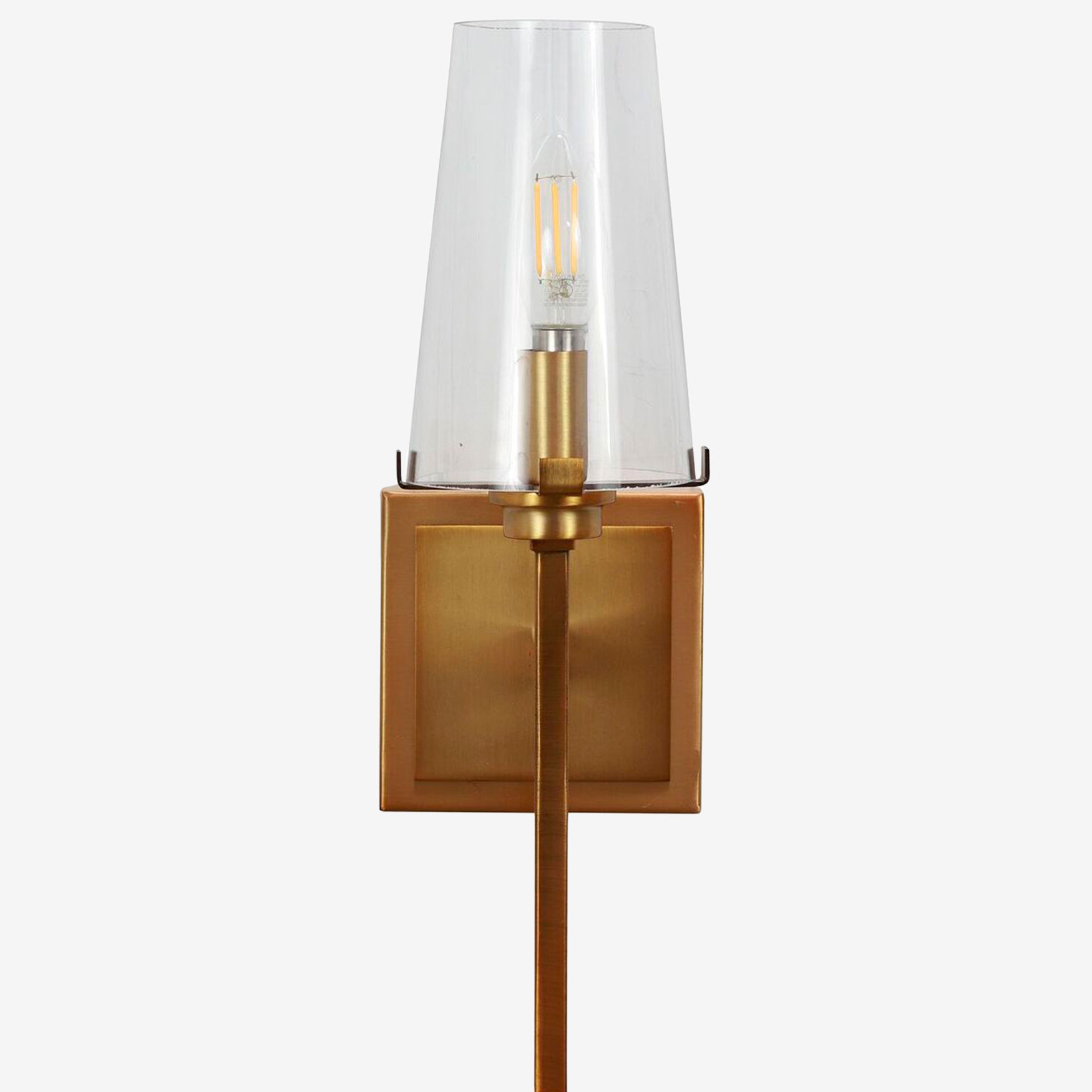 Madison Wall Sconce, BRASS
