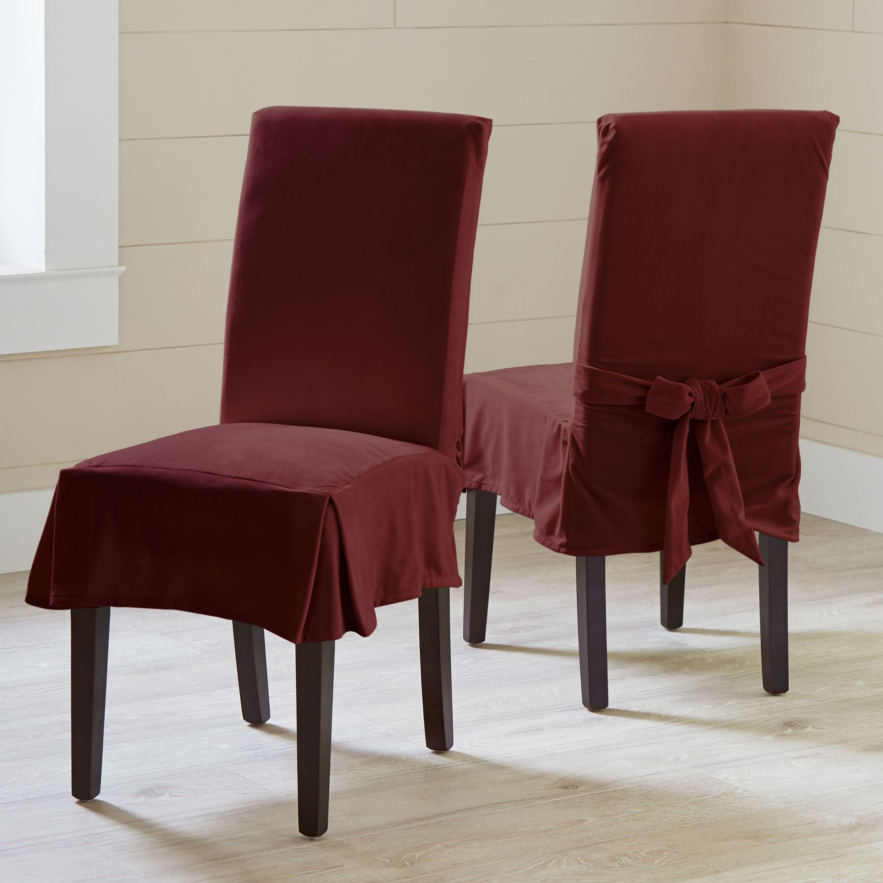 Merveilleux Venice Velvet Chair Covers, Set Of 2,