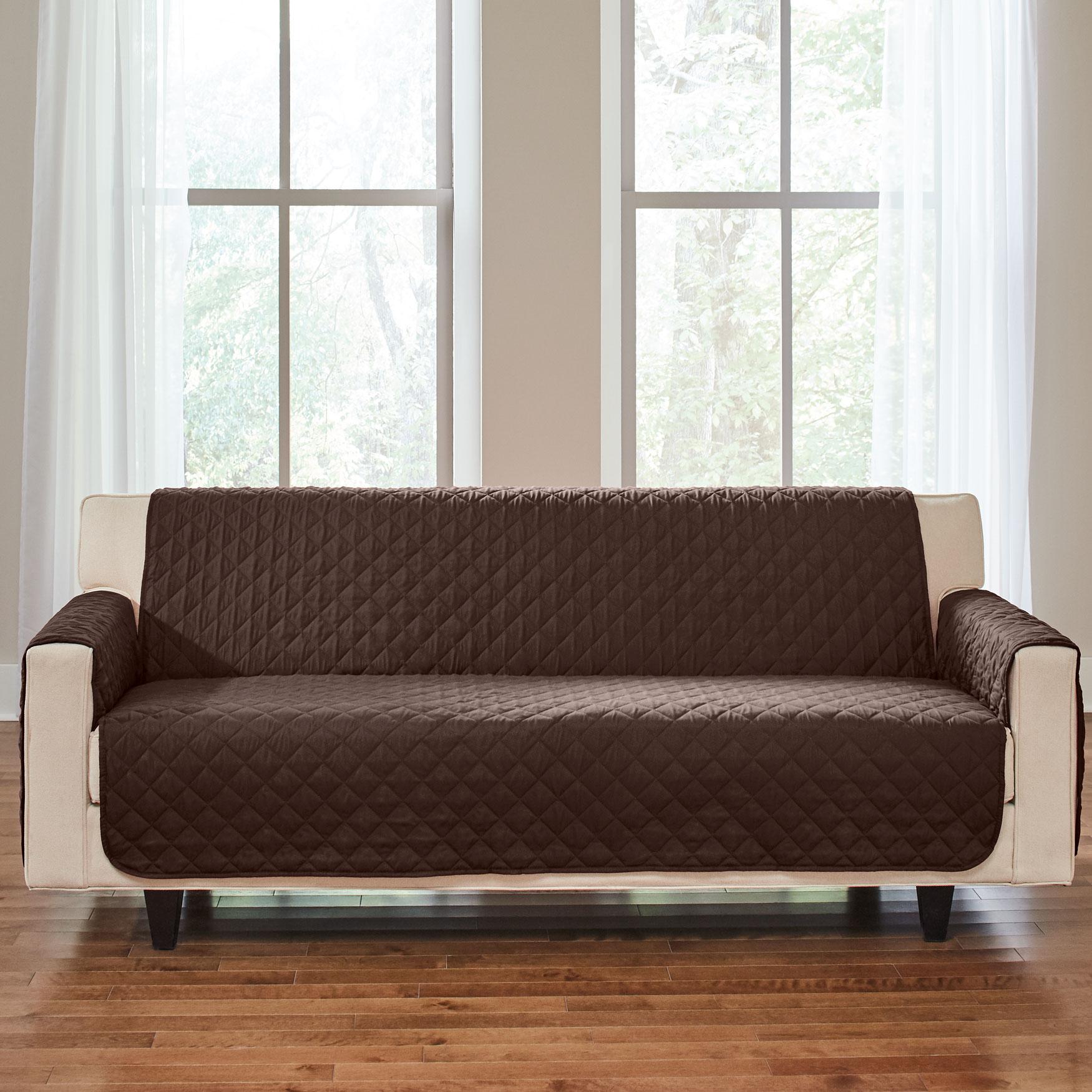 Microfiber Extra Long Sofa Protector