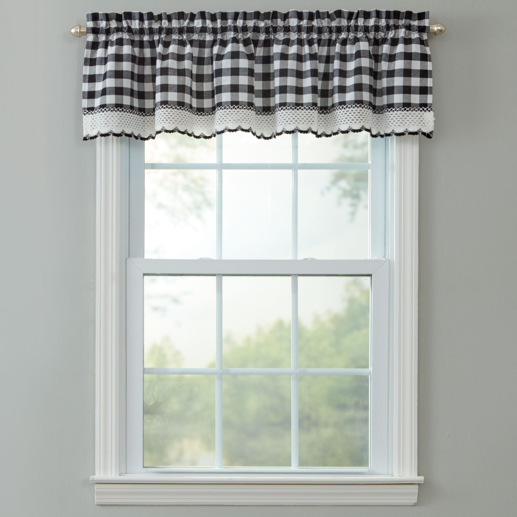 Buffalo Plaid Valance,