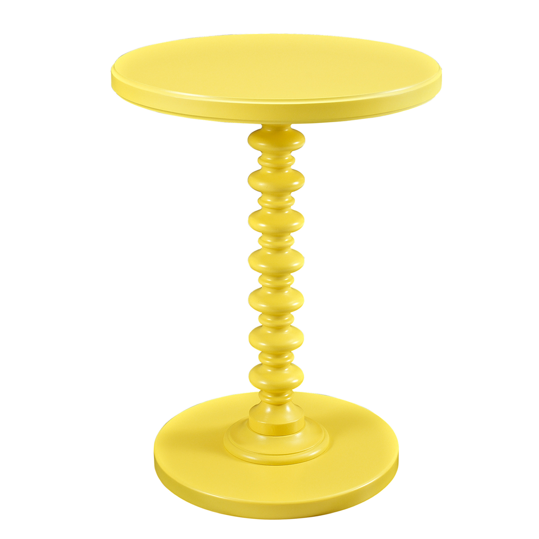 Round Spindle Table,