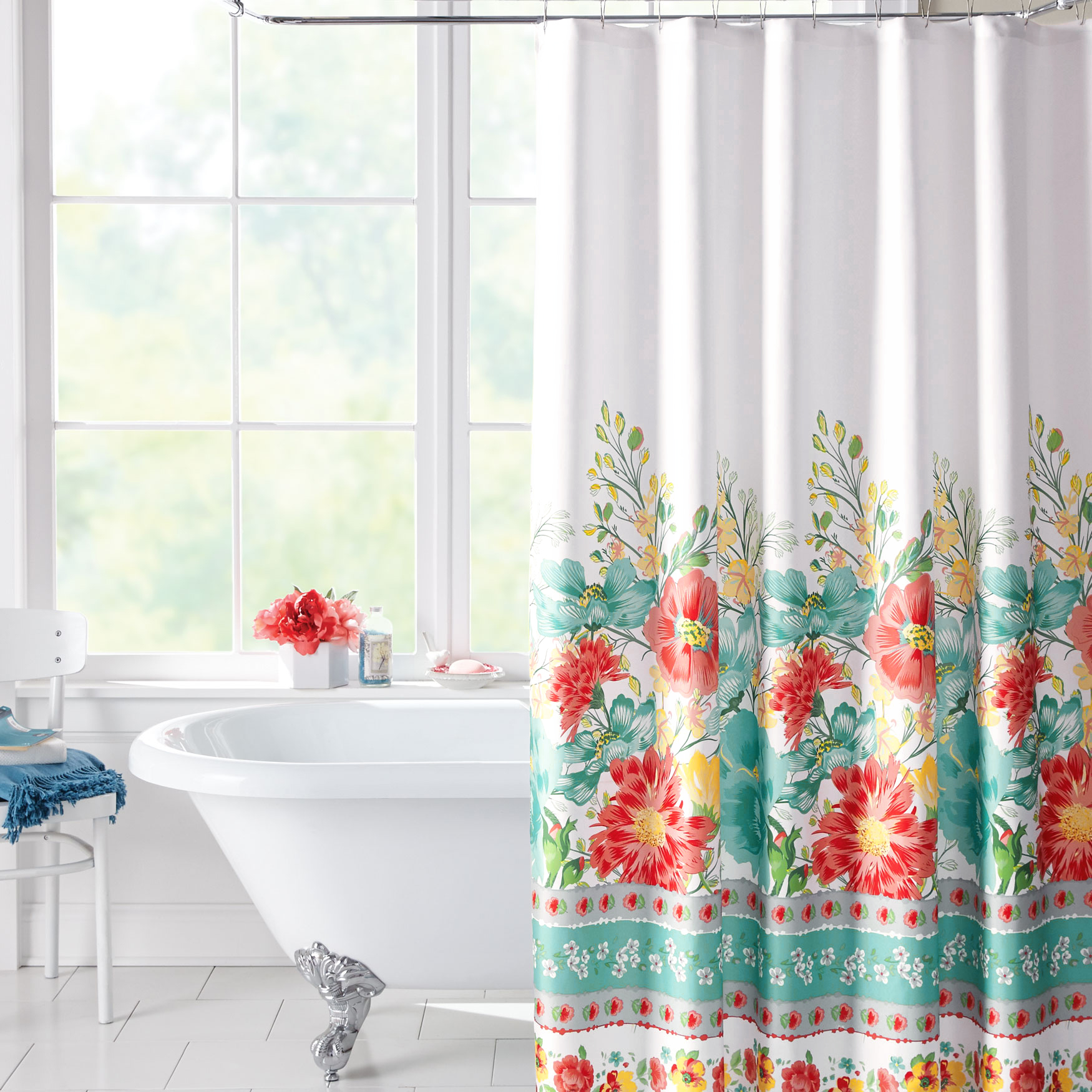 Oasis Shower Curtain MULTI