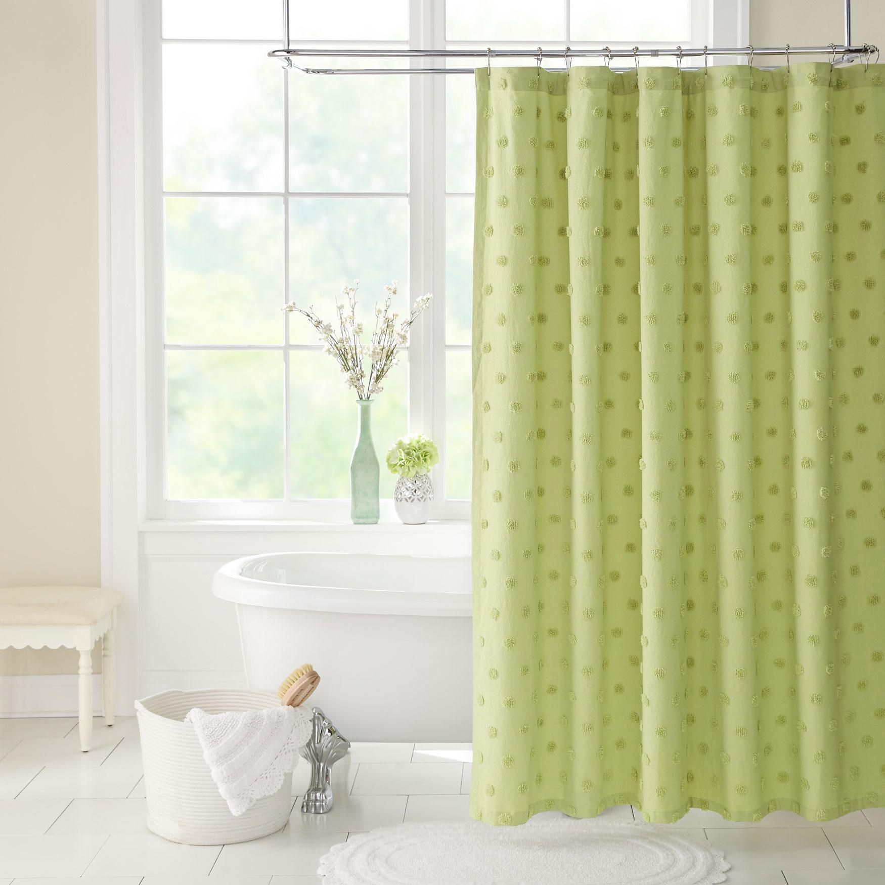 Georgia Chenille Shower Curtain
