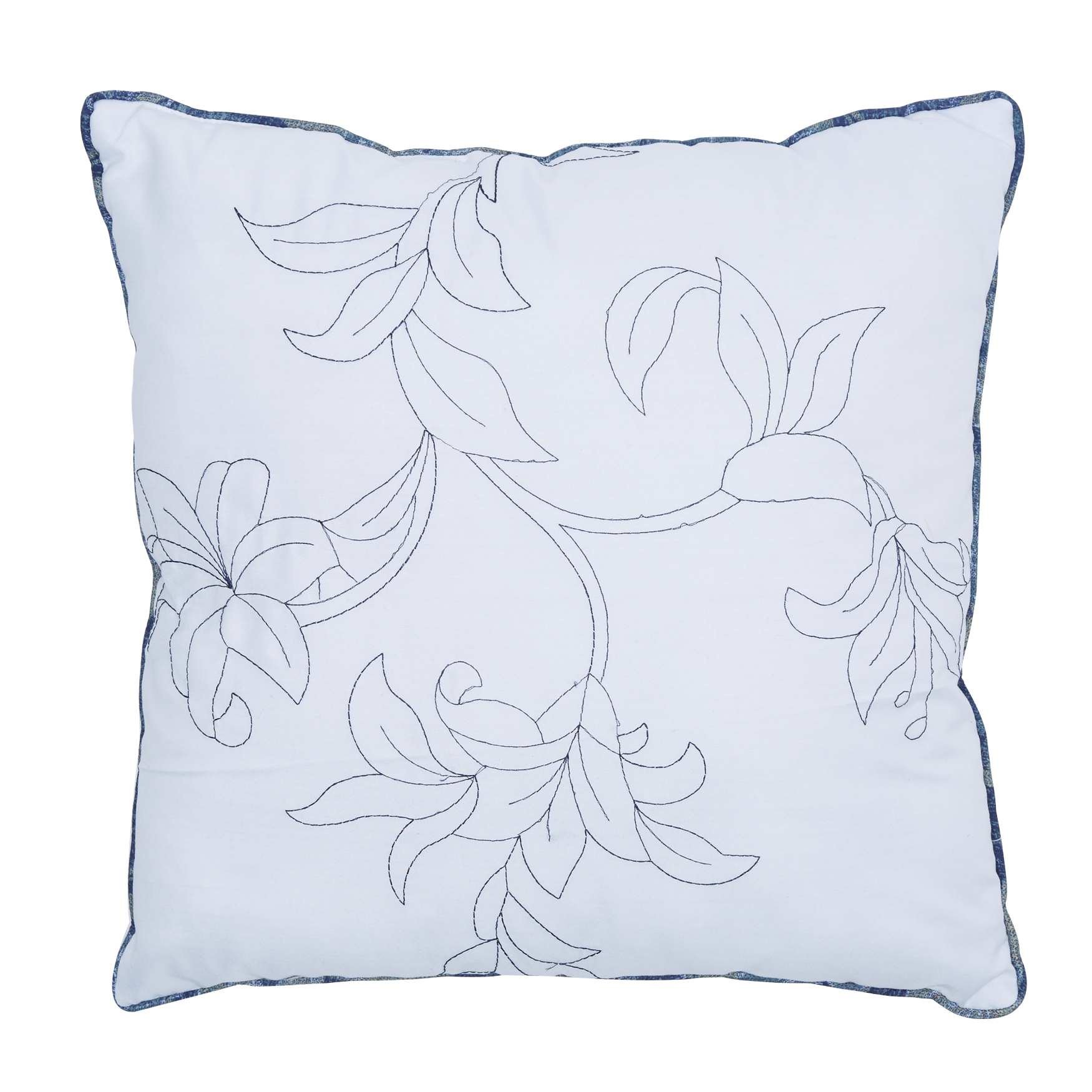 Catherine 16' Sq. Pillow, BLUE MULTI