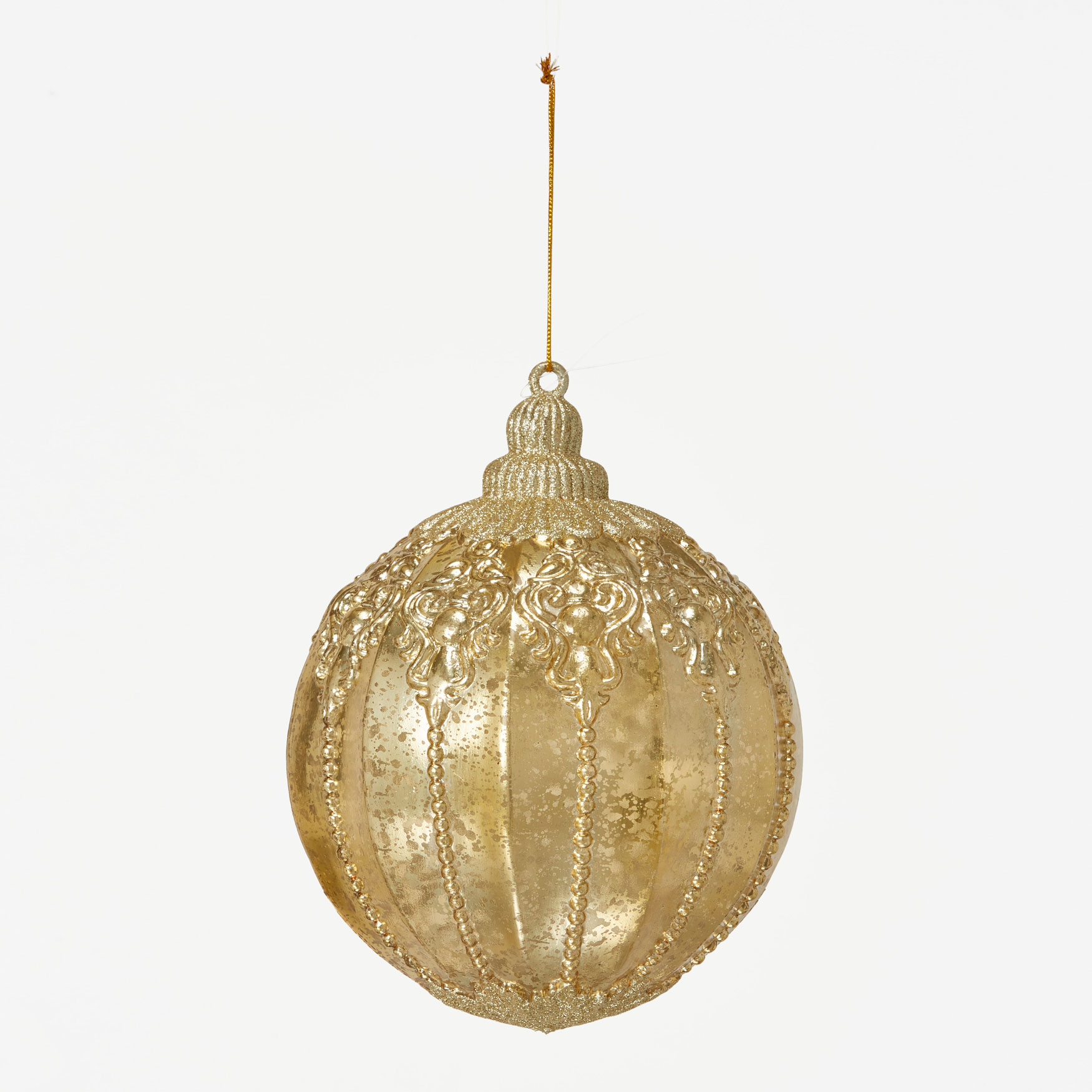 Champagne Ball Ornament, CHAMPAGNE