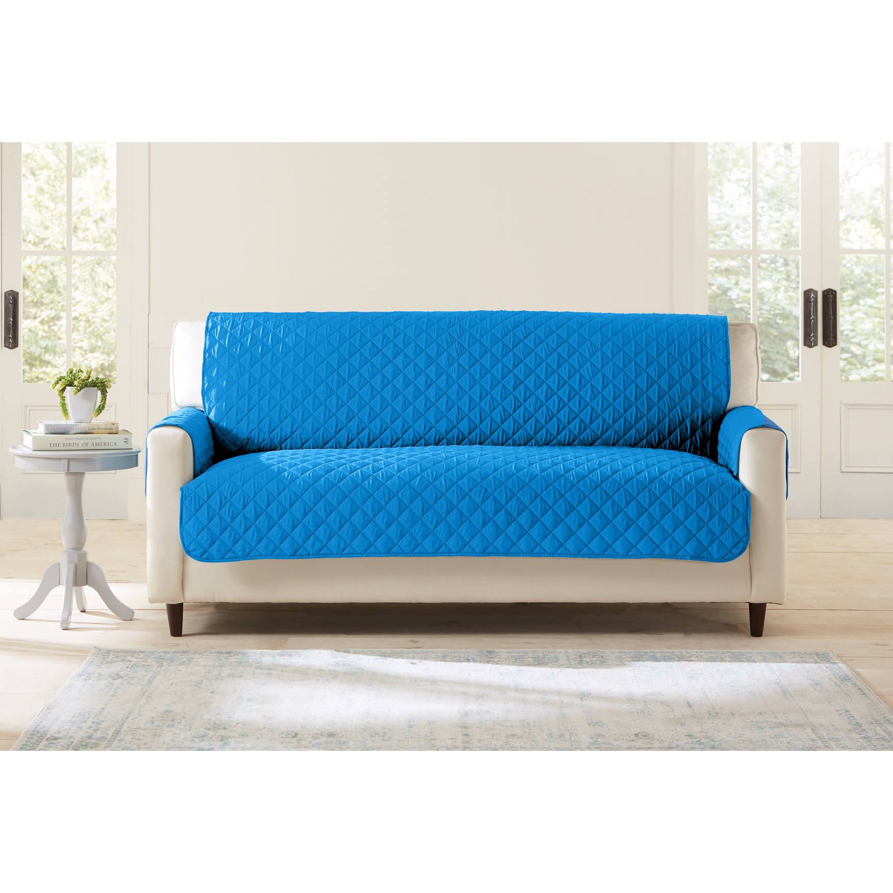BH Studio Water-Repellent Microfiber Extra-Long Sofa Protector,