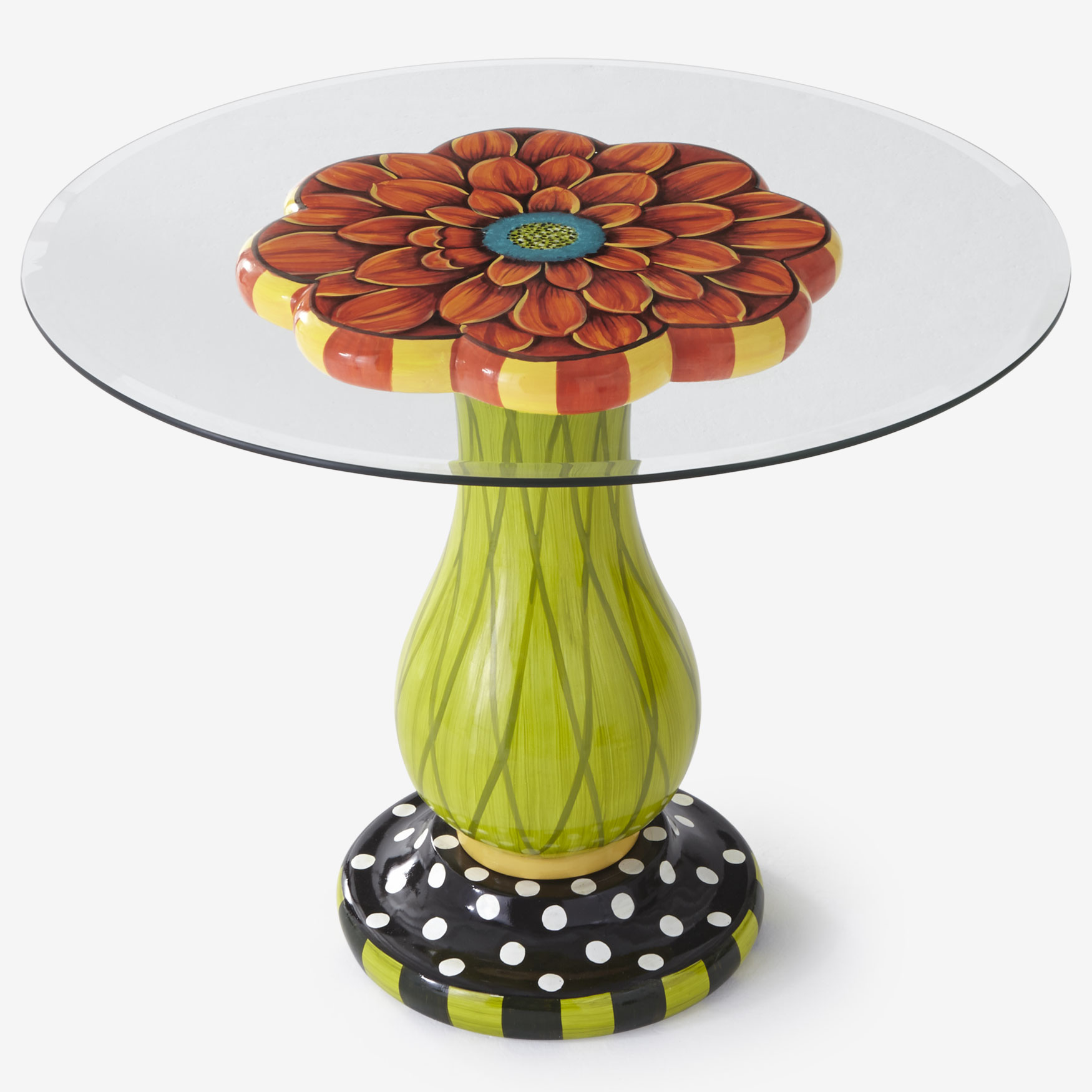 Flower Table Base , MULTI