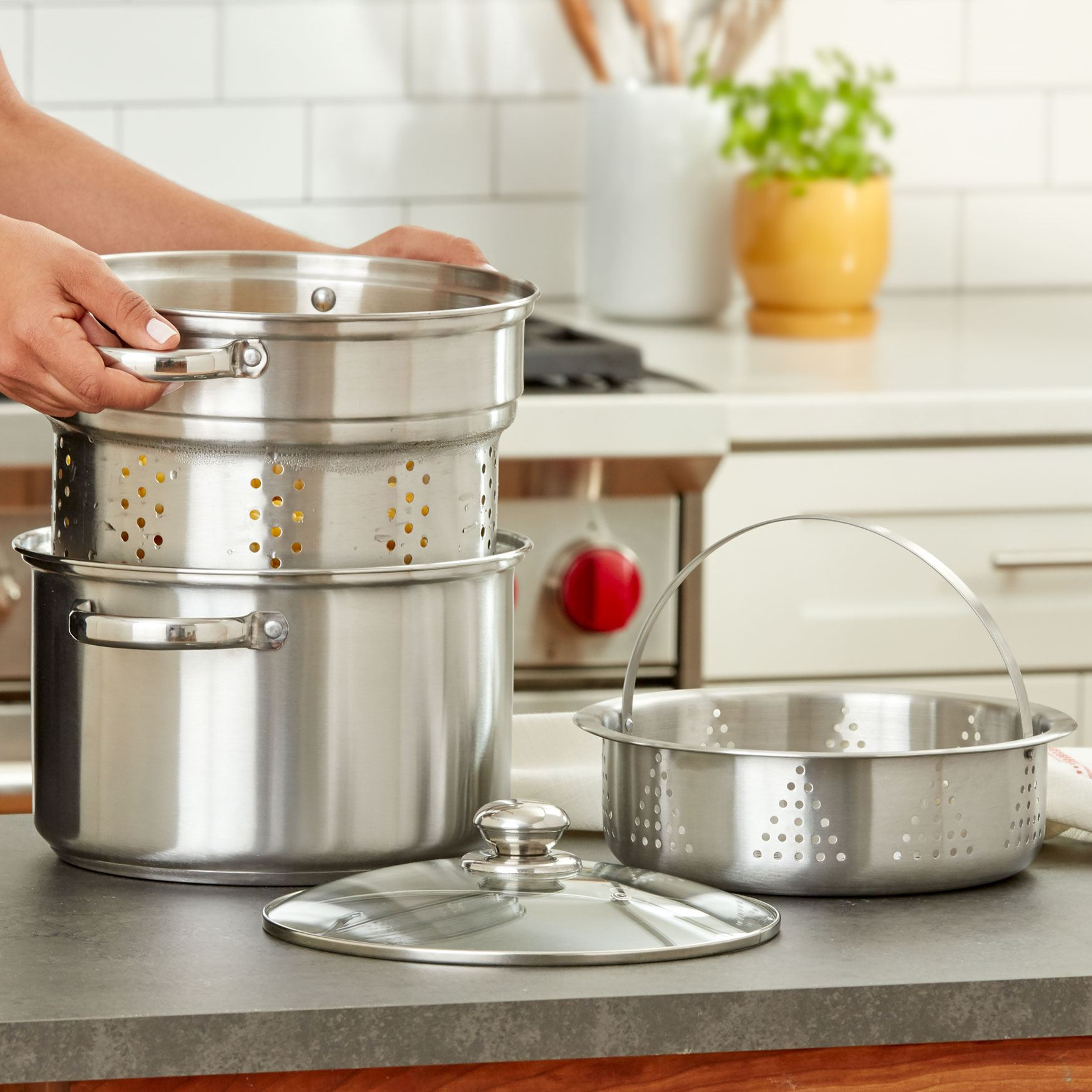 8 Qt Multi Cooker STAINLESS STEEL