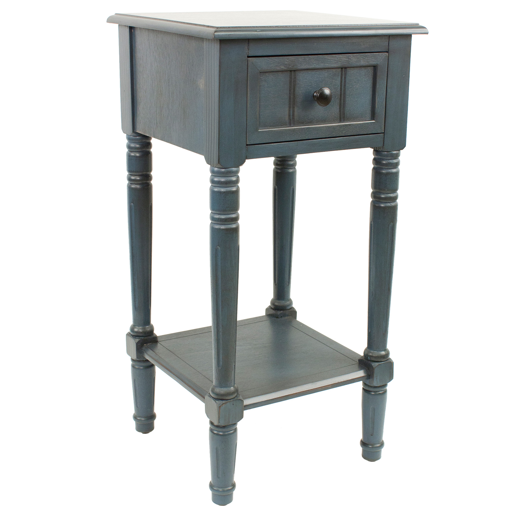 Simplify One Drawer Square Accent Table,