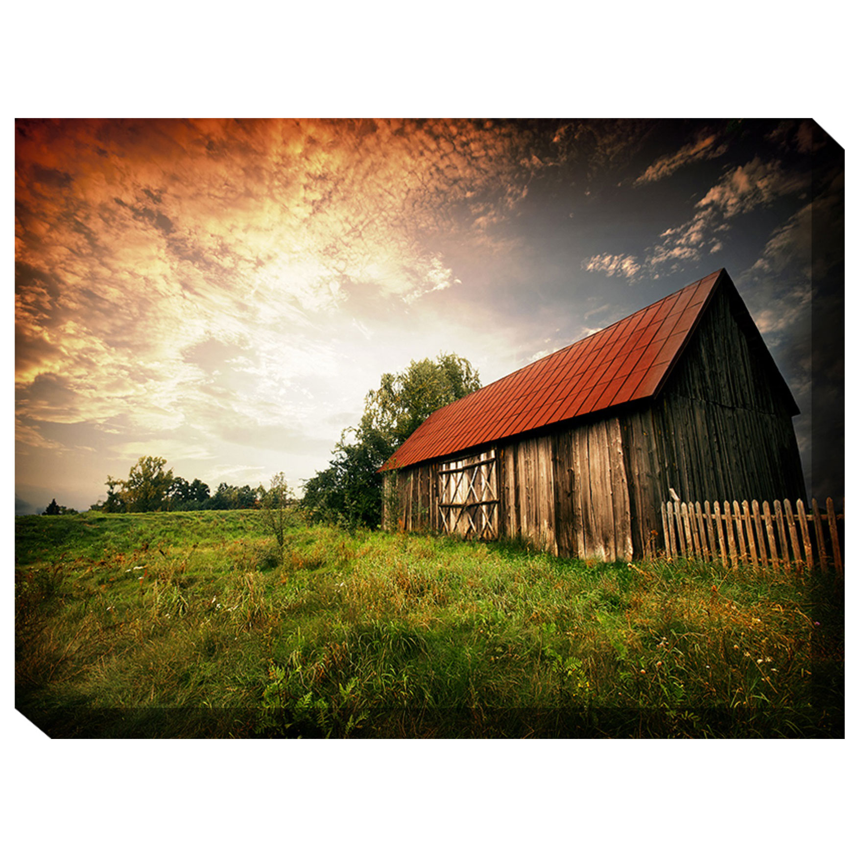 Heartland Outdoor Canvas Art, MULTI
