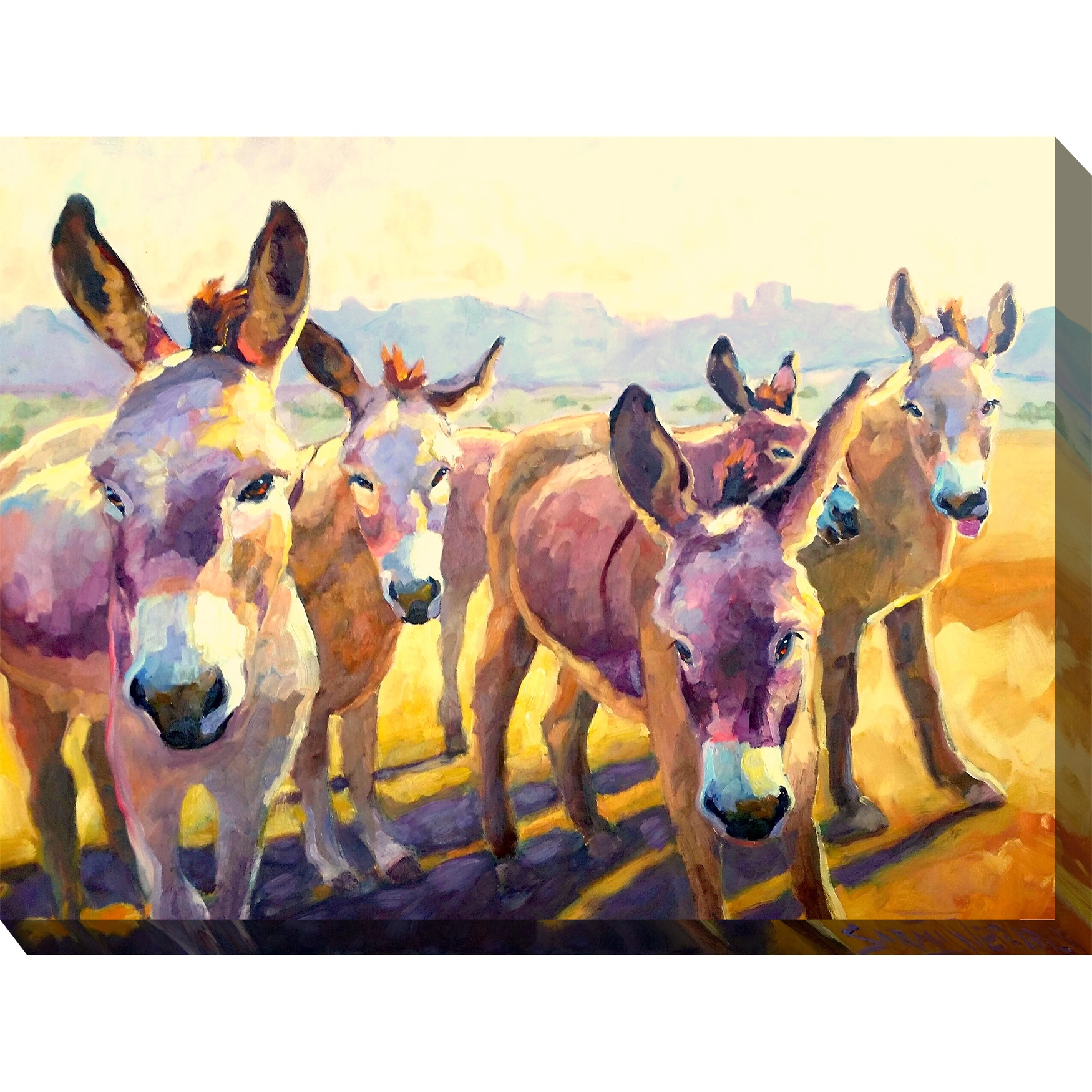 Tuffy's Gang Outdoor Wall Art, MULTI