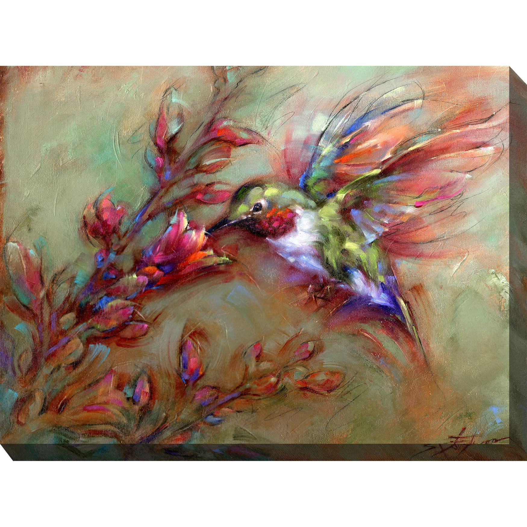Ambrosia Outdoor Wall Art, MULTI