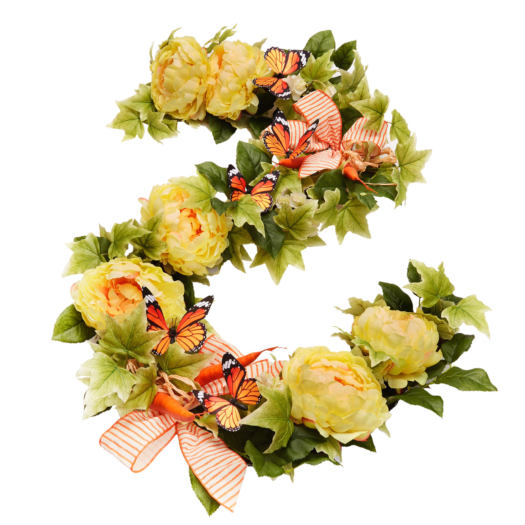 Carrot Patch 6' Garland, MULTI